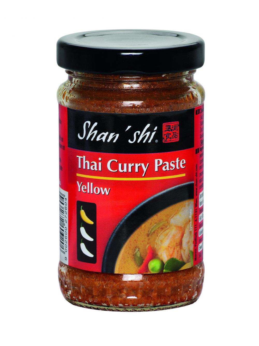 thai curry paste yellow